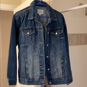 Old Navy NWT boyfriend fit jean jacket large